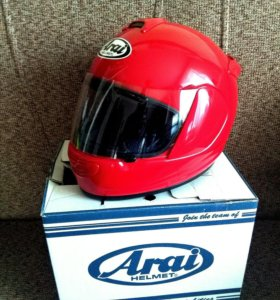 Новый шлем Arai Red Race