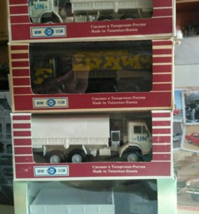 КамАЗы 4310 и КамАЗ 43105 модели СССР