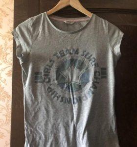 футболка на девочку 10-12 лет