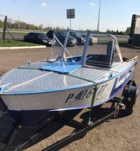 Моторная лодка Прогресс-4 (YAMAHA 55)