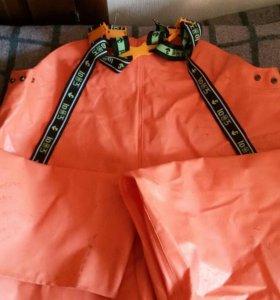 Рыбацкий костюм,перчатки резиновые