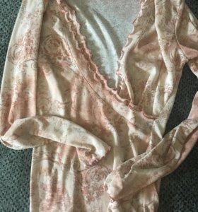 Кофточки и платья с сарафаны