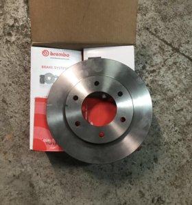 Тормозные диски на L200/Pajero sport