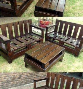 Деревянная мебель.