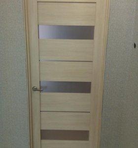 Дверь межкомнатная+коробка+фурнитура