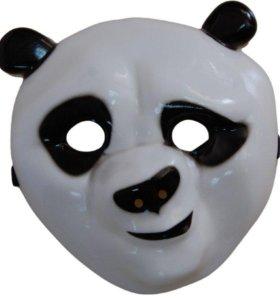 Маска панды По (Кунг фу панда)
