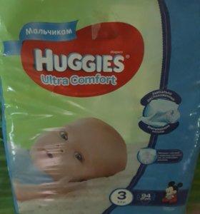 Подгузники huggies 3 для мальчиков