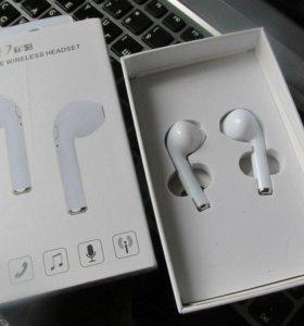 ⚡Беспроводные наушники HBQ I7 Bluetooth (Airpod)