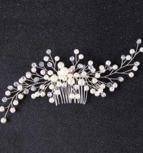 Свадебные и вечерние украшения для волос