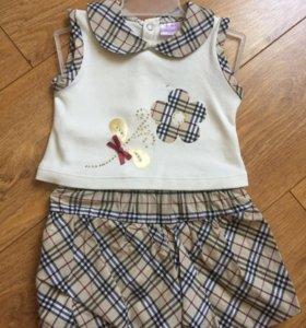 Майка и шорты,комплект