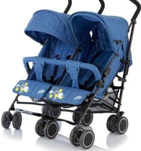 Новая коляска Baby care City Twin