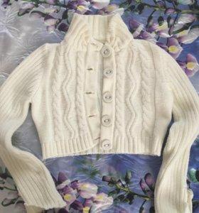 Кофточка, кардиган укорочённый, свитер