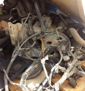 Двигатель Газель-Крайслер в разборе.