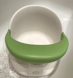 Happy Baby сиденье для ванны со съёмным бампером