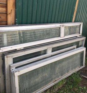 Алюминиевые рамы и двери