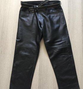 Кожаные штаны мужские