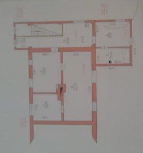 Квартира, 3 комнаты, 70.9 м²