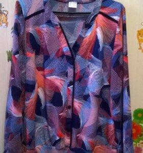 Новая блуза 52-54