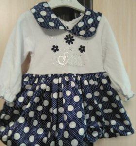 Платье 7-8 месяцев