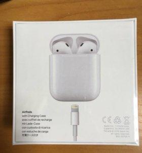 Стереогарнитура беспроводная Apple AirPods
