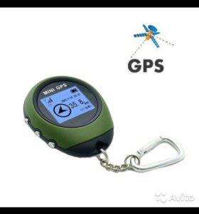 GPS трекер навигационный приемник, Мини, Ручной