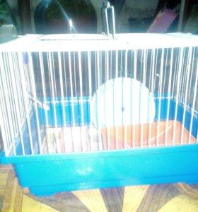 Клетка для папугая  хомяка