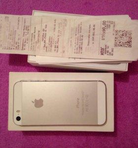 iPhone 5.s.