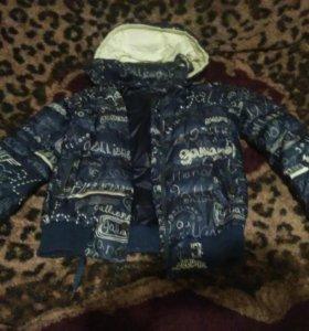 Куртка тёплая зима-осень