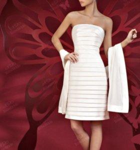 Свадебное /коктейльное платье