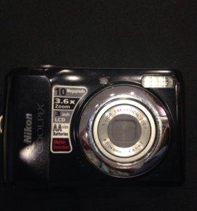 Фотоаппарат Nikon coolpix L20