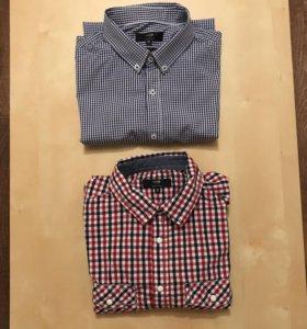 Мужские рубашки oodji пакетом 2 шт