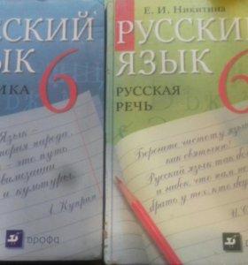 Русский язык. Практика и русская речь. 6 класс