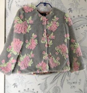Курточка-шубка для девочки