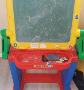 """Детский столик"""" Моя первая студия"""""""