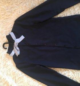 Школьная рубашка 8-10 лет