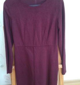 Замшевое платье Zara