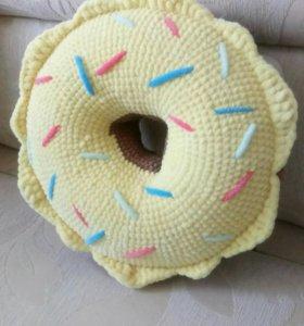 Подушка - пончик