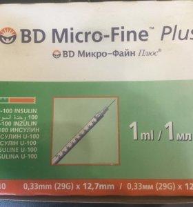 Bd micro fine 1ml 10шт