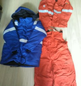 Летний костюм с зимней курткой пожаробезопасные.