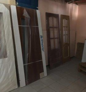 Остатки дверей из строительного магазина