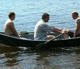 Лодка заводская новая 2.85х1.35х0.45 м
