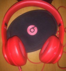Наушники Beats solo 2 Product red (Оригинал).