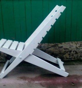 Раскладное кресло для дачи и дома.
