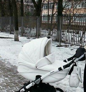 CAR BABY concord 3в1 эко кожа белая