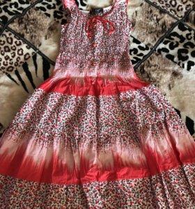 новое летнее платье-сарафан