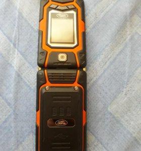 Защищенный телефон Land Rover X9 flip