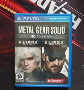 Ps vita / Metal Gear Solid HD Collection