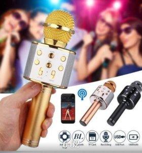 Беспроводной USB микрофон караоке КТВ player