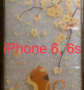 Силиконовые чехлы на iPhone 6, 6s, 6+, 6s+