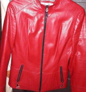 Продаю новый кожаный пиджак